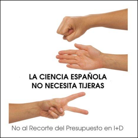 La ciencia española no necesita tijeras. No al recorte del presupuesto en I+D