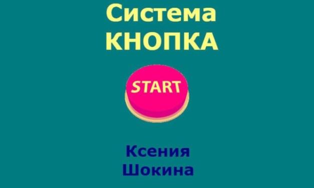 «Система Кнопка» от Ксении Шокиной. Отзывы