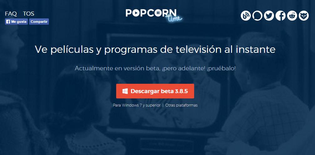 Popcorn Time El Mejor Programa Para Ver Películas Y Series