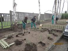 Preparación terreo