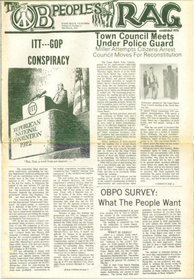 The OB Rag, Vol. 2, No. 8