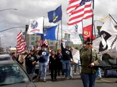 Veterans for Peace March in San Diego, March 15, 2008