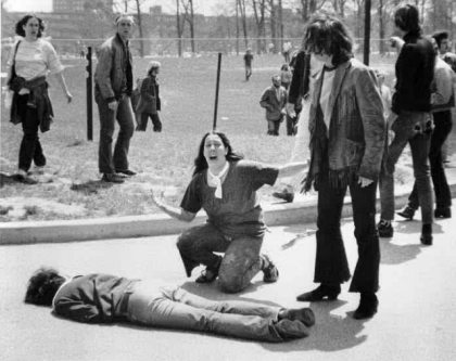 Kent State, Ohio, May 4, 1970