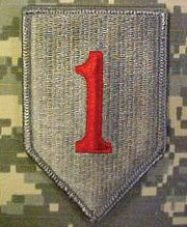 The Big Red One - First Division, U.S. Army, insignia