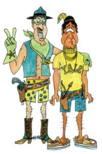 OB Ranger and his trusty sidekick Indian (from the CD cover art)