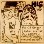 "OB Ranger advertisement from ""The Daily Aztec"" circa 1971"