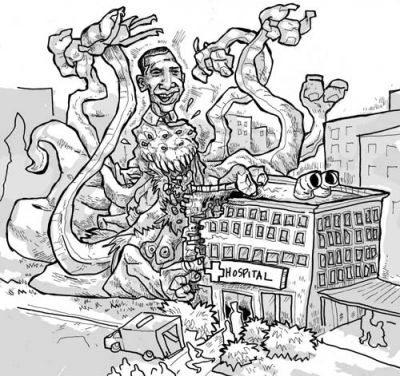 obama monster