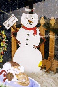 Bone Appetit snowman