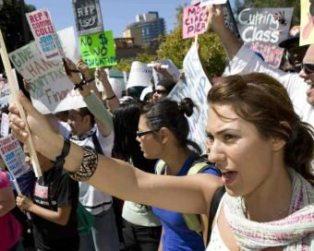 pub ed protest SD sept09com college