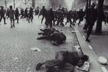 sixties Paris battle