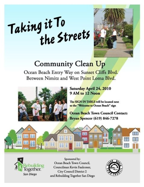 OBTC clean up poster