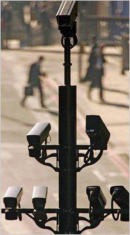 British surveil cameras