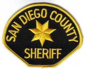 san diego sheriff patch