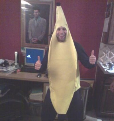 lane tobias as banana
