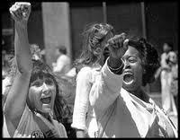 ERA marchers fists