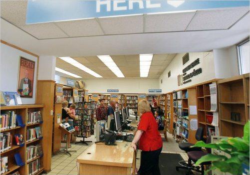 Library private santa clar