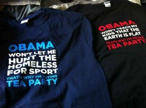 Tshirts vs tea party