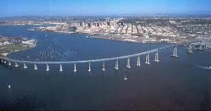 San Diego w Coron bridge