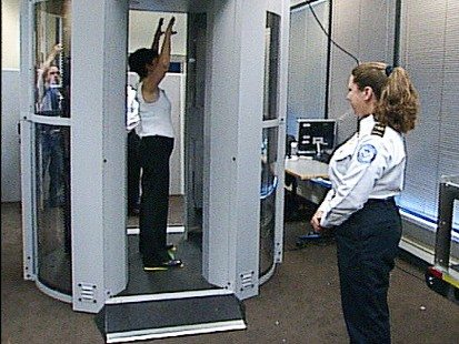 How airport passengers will have naked photos taken by