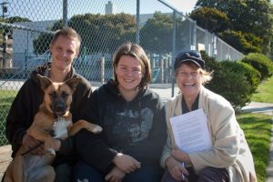 Ricky, Darcie, Artemis (the dog) and Sunshine, all photos by Brittany Bailey