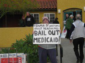 Susan Davis Town Hall - Bail Out Medicaid