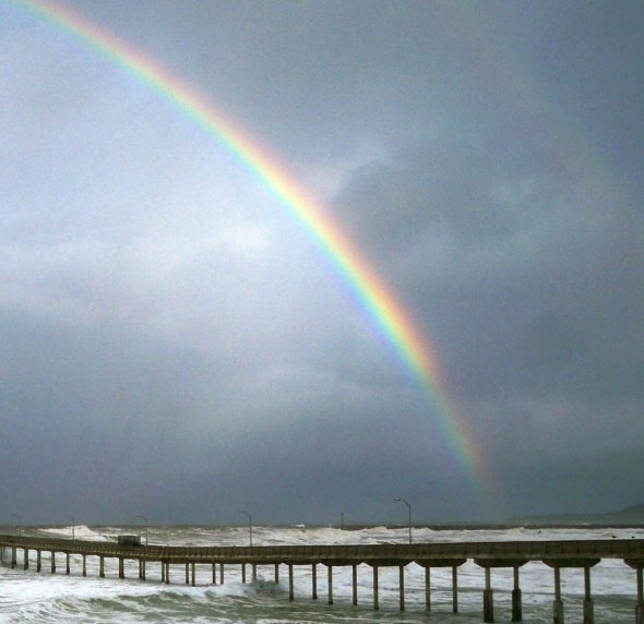 pier rainbow nate