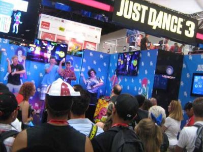 ComicCon Just Dance 3