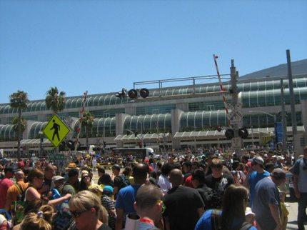 ComicCon 2011 exterior