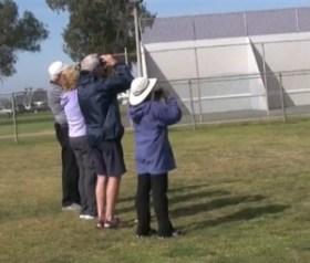birders at Robb Field