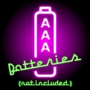 AAA batteries not included free