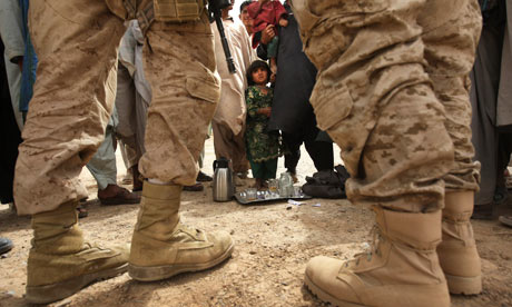 Afghanistan boots on ground