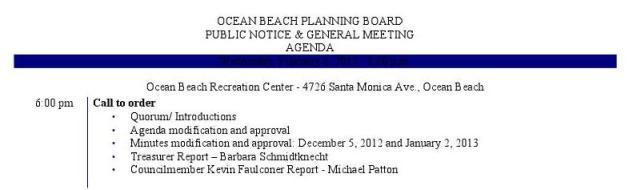 OB Plan Bd Agenda 2-6-13a