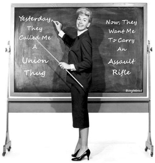gun control teacher