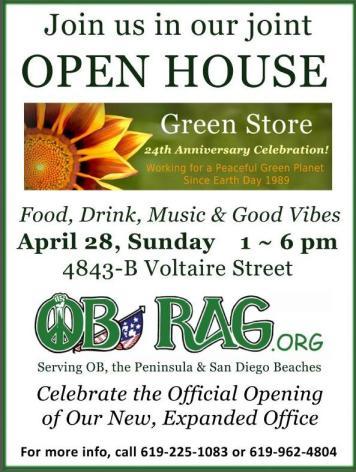 OB Rag OpenHouse Poster 4-28-13