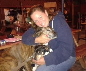 Amy Hall n dogs
