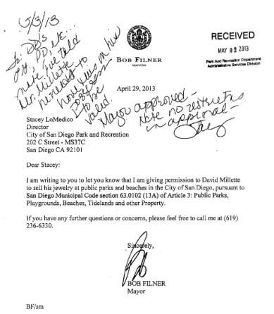 Filner letter Millette051513
