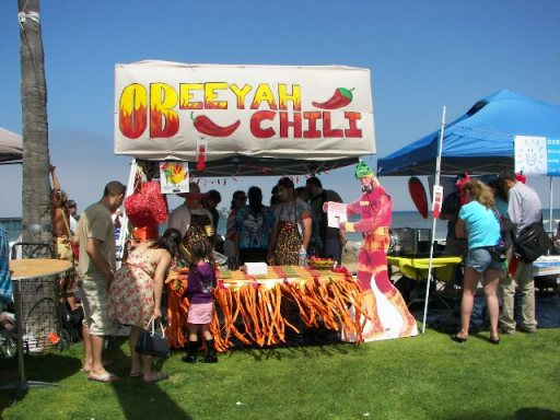 OB Street Fair 2013 TomC ChiliCook