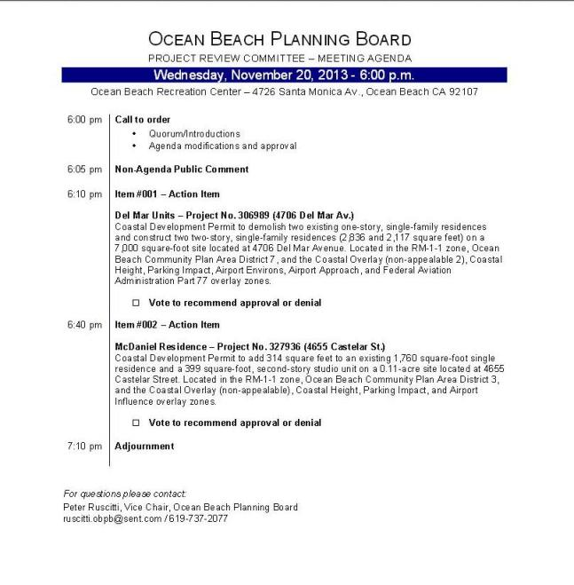 Agenda OBPB 11-20-13