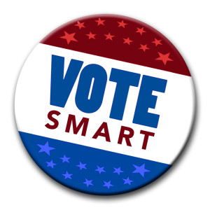vote smart button