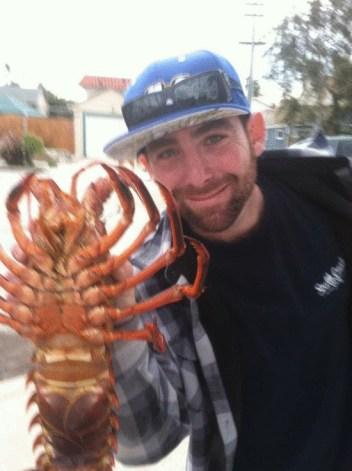 Garrett Rodriquez lobster