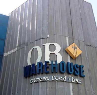 OB Warehouse sign