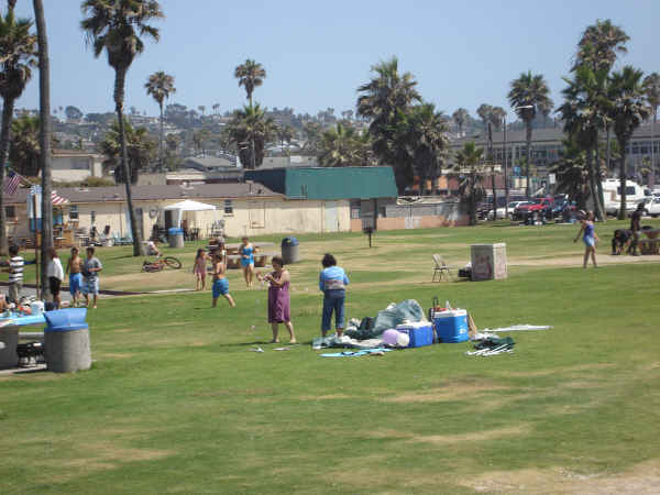 OB Saratoga Park pre-demo