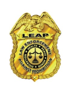 med mj LEAP badge