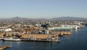 San Diego Bay shipyard