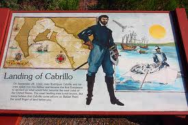 Juan Cabrillo plaque