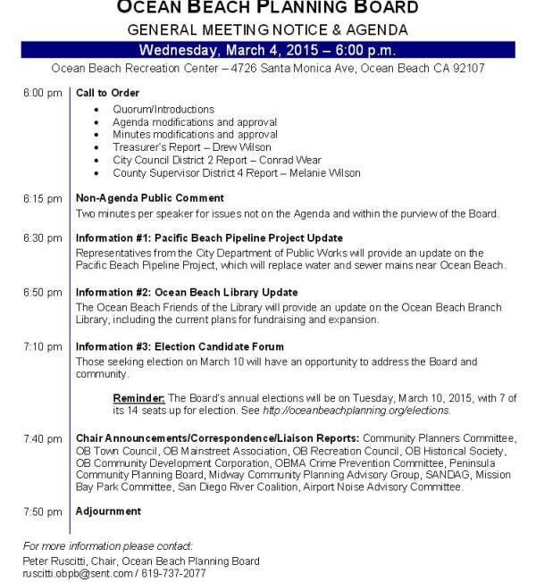 OB Plan Bd agenda 3-4-15