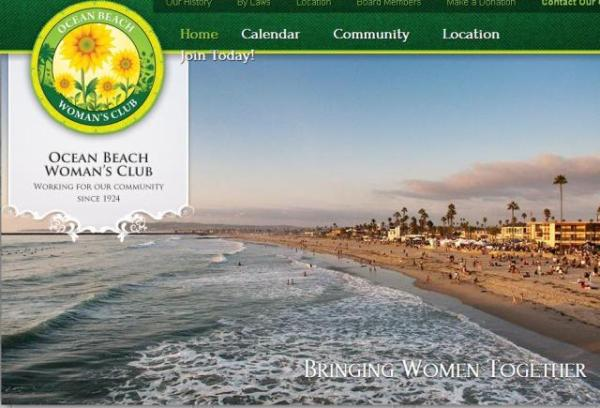 OB Womans Club website image