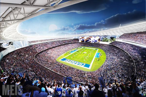 San Diego Stadium new