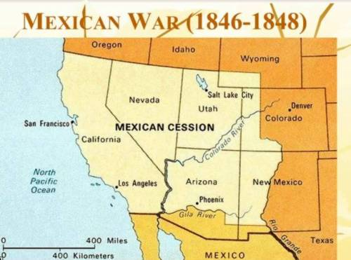Mexican war Map