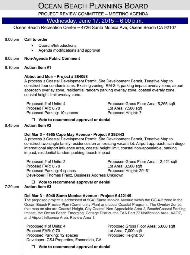 OBPB ProJ Rev Agenda 6-17-15